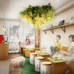 吉祥寺初!ハリネズミ&マイクロブタのふれあいカフェがオープンへ