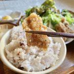 三鷹の超人気定食屋「ニシクボ食堂」名物の鶏肉の甘辛パリパリ揚げ定食