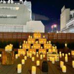 コピス吉祥寺、初のキャンドルナイト開催&クリスマスツリー点灯【動画あり】